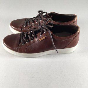 ECCO Danish Design Men's Brown Leather Sneakers